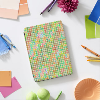 Points de pastel d'aquarelle protection iPad pro