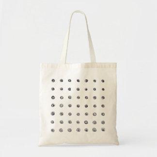 Points et remous tote bag