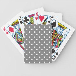 Pois gris jeu de cartes