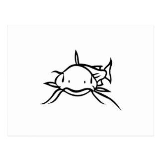Poisson-chat Cartes Postales