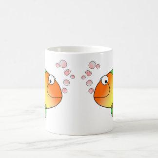 Poissons drôles mignons - colorés mug
