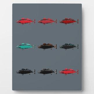 Poissons Plaque D'affichage