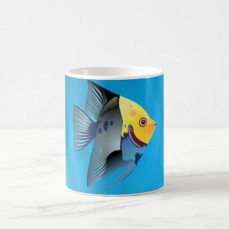 poissons tropicaux mug