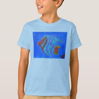 Poissons tropicaux vibrants t-shirt
