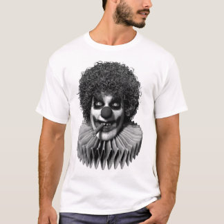 Polisson le T-shirt de base des hommes de clown