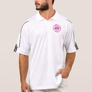 Polo Adidas des hommes jouent au golf le polo de
