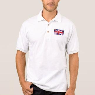 Polo BRITANNIQUE de golf de drapeau Polo