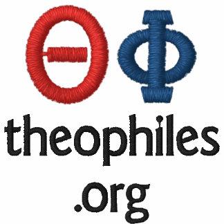 polo brodé par logo de theophiles org