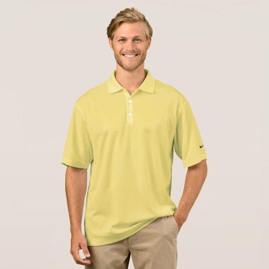 Polo piqué pour homme Dri-FIT de Nike, Barbe de maïs