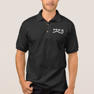 Polo Le polo shirt messieurs le noir avec le logo