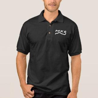 Polo shirt heren zwart met logo