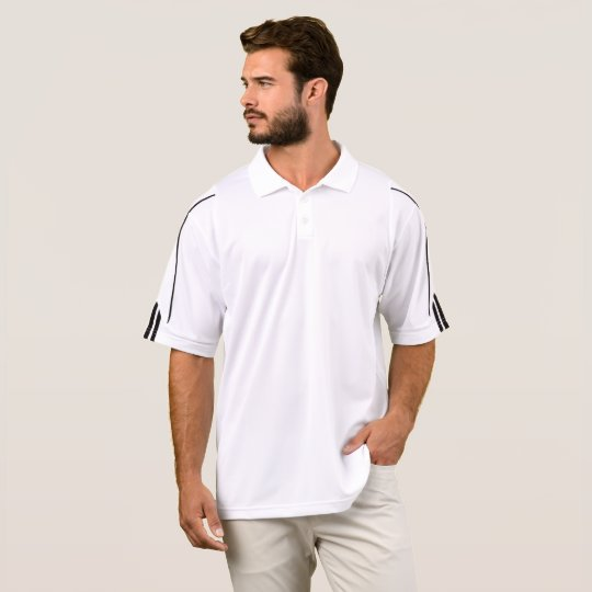 Polo femme  Adidas Golf  ClimaLite®, Blanc/Noir