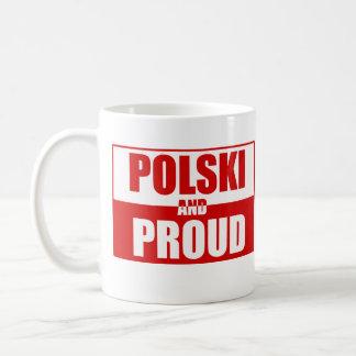Polski et fier mug blanc