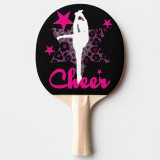 Pom-pom girl raquette de ping pong