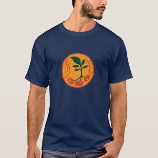 Pommes de terre sur le T-shirt de Mars