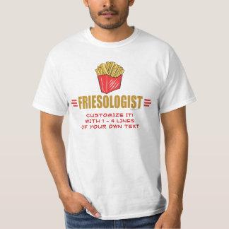 Pommes frites drôles t-shirt