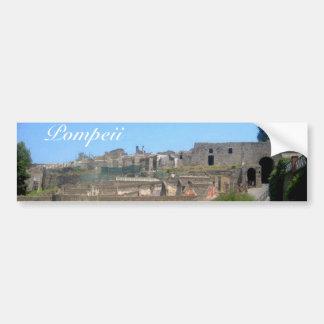 Pompeii Italie Autocollant De Voiture