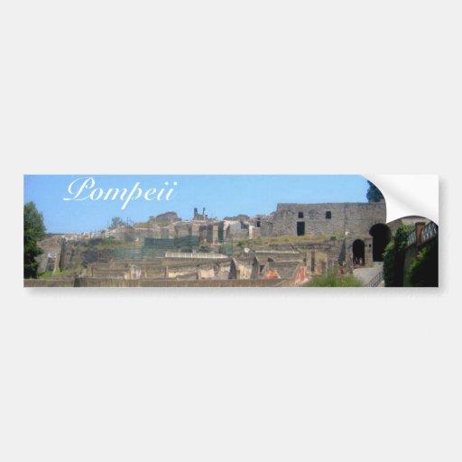 Pompeii Italie Adhésifs Pour Voiture