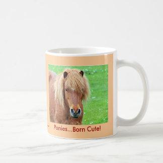 Poneys - mignon soutenu ! mug