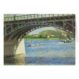 Pont à Argenteuil par Gustave Caillebotte Carte
