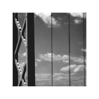 """Pont blanc du noir """"n"""" toiles"""