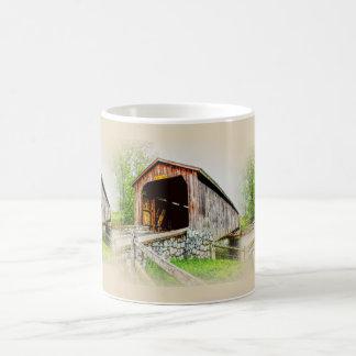 Pont couvert  -- Tasse de café