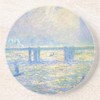 Pont croisé 03 de Charing par Claude Monet Dessous De Verre