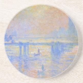 Pont croisé de Charing par Claude Monet Dessous De Verres