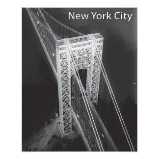 Pont de George Washington New York City Impression Photo