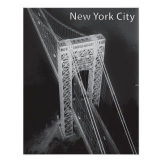 Pont de George Washington New York City Poster