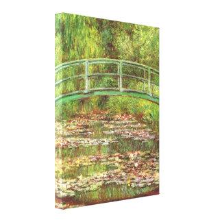 Pont de Monet au-dessus des beaux-arts de Lilys de Toiles