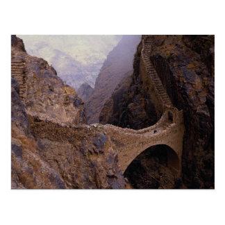 Pont de Shahara, abîme de 9000 pi, Yémen Carte Postale