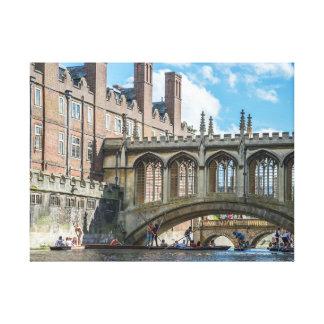 Pont des soupirs, copie de toile de Cambridge