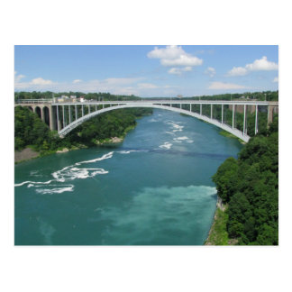 Pont en arc-en-ciel, chutes du Niagara Carte Postale