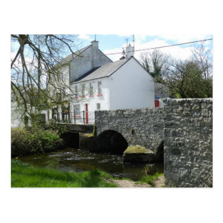 Pont en rue de pont dans le birr - Irlande Carte Postale