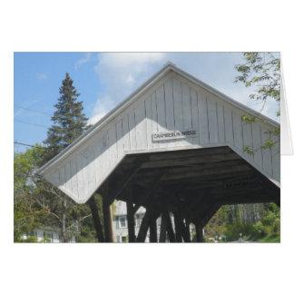 Pont Vermont de Chamberlin Carte