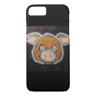 Porc au néon coque iPhone 7