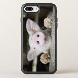 Porc de bébé dans le stylo, porcelet coque otterbox symmetry pour iPhone 7 plus