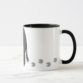 Porc de miniature de bande dessinée mug