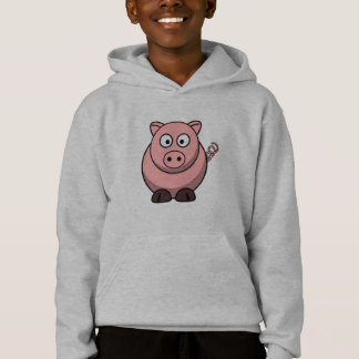 Porc drôle mignon