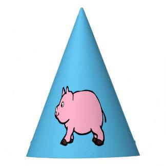 Porc rose, chapeau de partie
