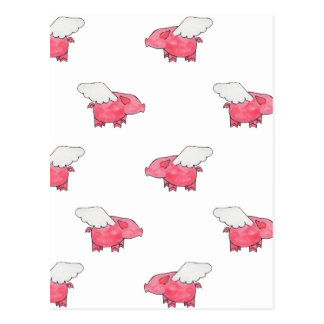 Porcs de vol carte postale