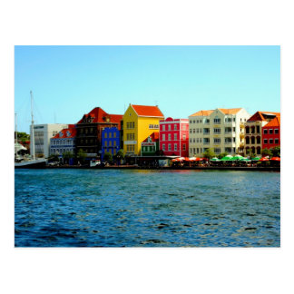 Port de carte postale de Willemstad Curaçao