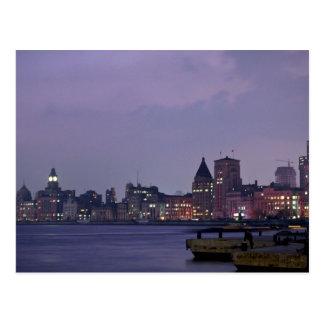 Port de Changhaï, Chine Carte Postale