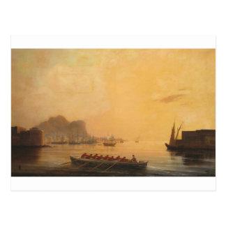 Port par Ivan Aivazovsky Carte Postale