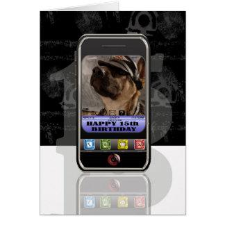portable, message textuel de téléphone portable carte