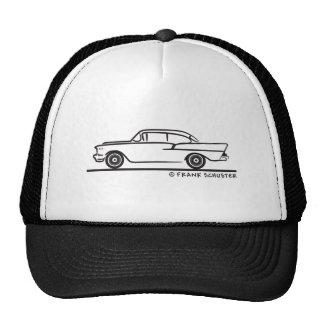 Porte 1957 de la berline deux de Chevrolet 5-10 Casquettes De Camionneur