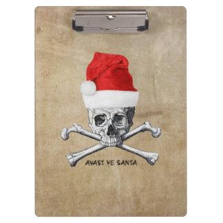 Porte-bloc Avast crâne #1 de pirate de vacances du YE Père
