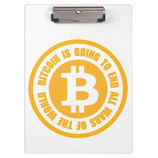 Porte-bloc Bitcoin va finir toutes les guerres du monde