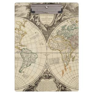 Porte-bloc Carte 8 du monde
